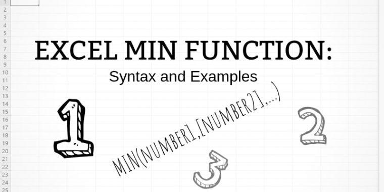 MIN function