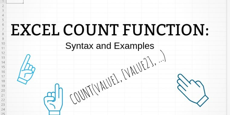 Count function examples and syntax